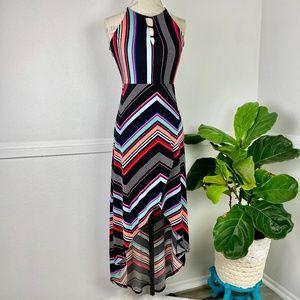 Candie's Striped Boho Maxi Dress Sz. S